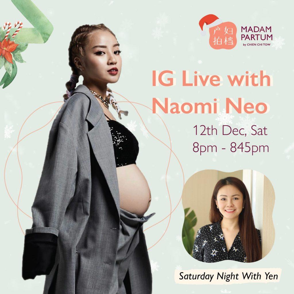 Naomi IG Live