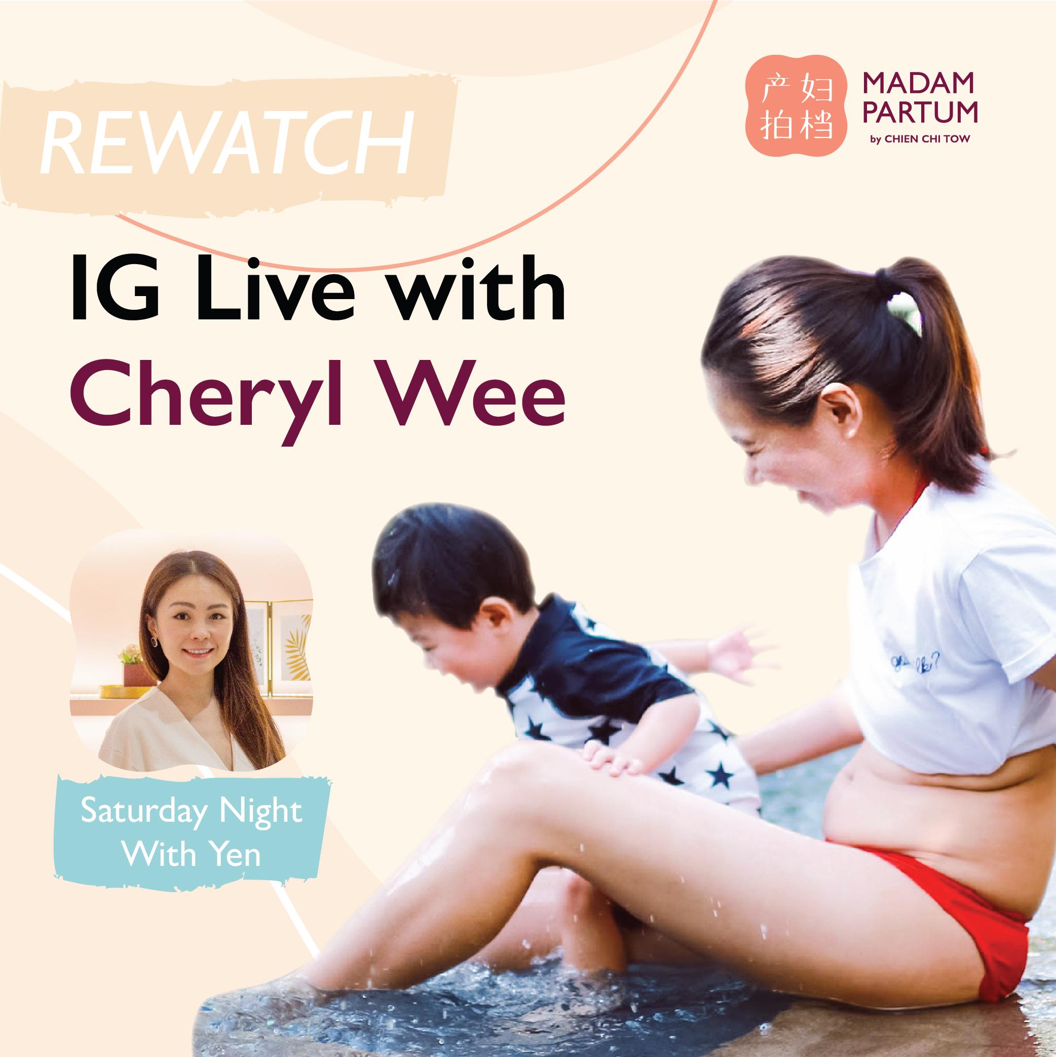 Cheryl's IG Live